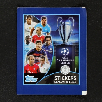 Champions League 2015 Topps sticker bag