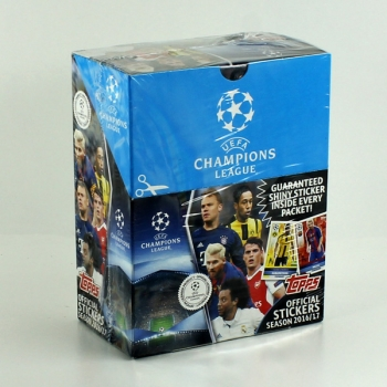 Champions League 2016 Topps Sticker Box