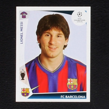 Lionel Messi Panini Sticker 359 Serie Champions League 2009