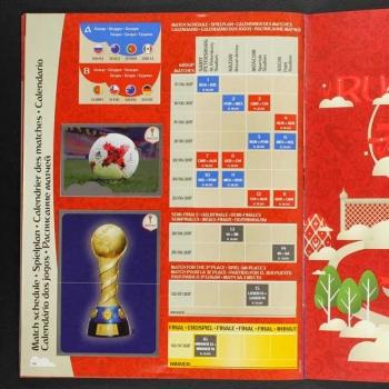 Confederation Cup Calendario.Confederations Cup Russia 2017 Panini Sticker Album Complete
