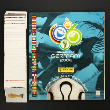 Germany 2006 Panini Album Sticker komplett ungeklebt