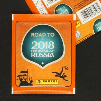 Road to Russia 2018 Panini Sticker Tüte internationale Variante