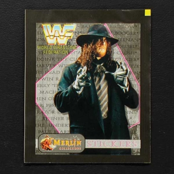 WWF Wrestling 1993 Merlin Sticker Tüte
