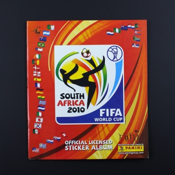 South Africa 2010 Panini Sticker deutsches Leeralbum