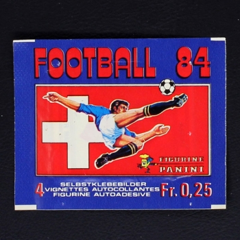 Football 84 Panini Sticker Tüte
