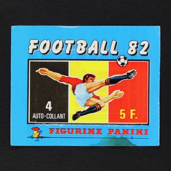 Football 82 Panini Sticker Tüte