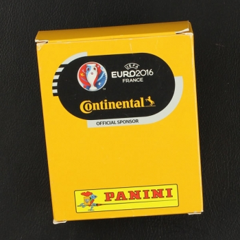 Euro 2016 Panini Sticker Box Continental Variante