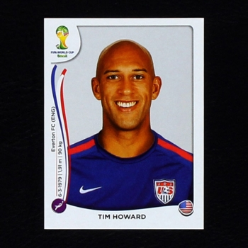 Brasil 2014 Nr. 547 Panini Sticker Tim Howard