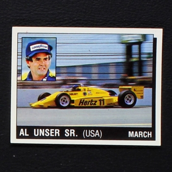 All Unser SR Panini Sticker Serie Motor Adventures