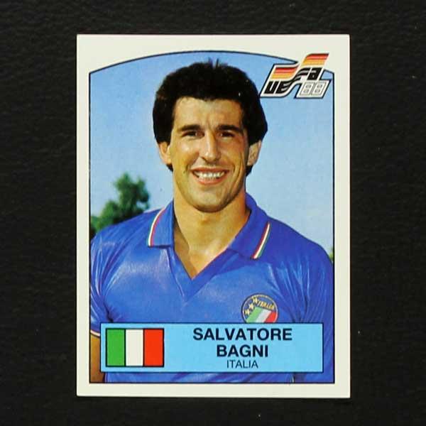 Euro 88 No. 089 Panini sticker Salvatore Bagni- Sticker-Worldwide
