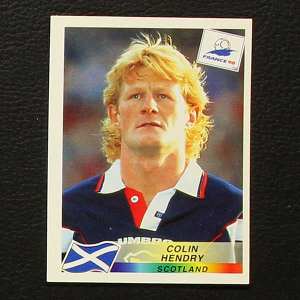 Merlin Euro 96 Colin Hendry Scotland No 80