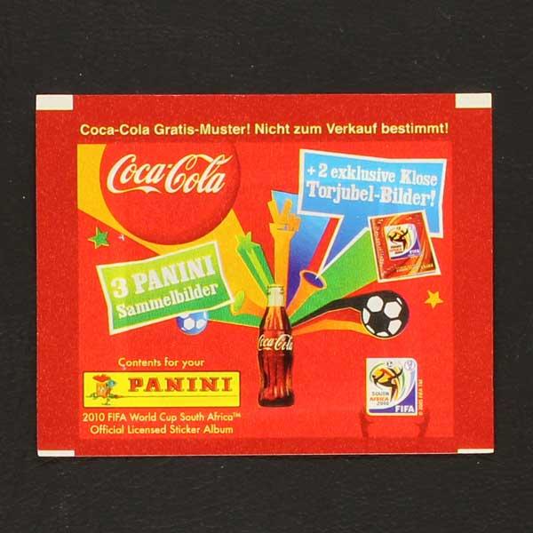 8b926248a South Africa 2010 Coca Cola Panini sticker variant Klose- Sticker ...