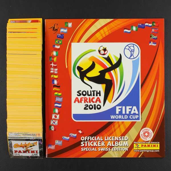 21303f955 South Africa 2010 Panini sticker album- Sticker-Worldwide