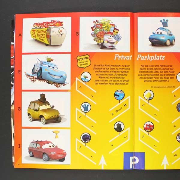 Cars  Panini Sticker Album